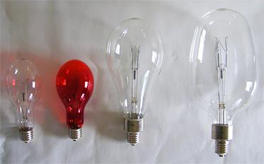 白熱集魚灯用電球 DP形 ・EG形 ・T形