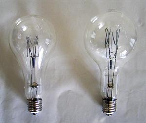 白熱集魚灯用電球 PS形 ・PG形
